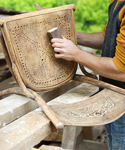 Restoring a Chair | Furniture Restoration in Edgewater, MD